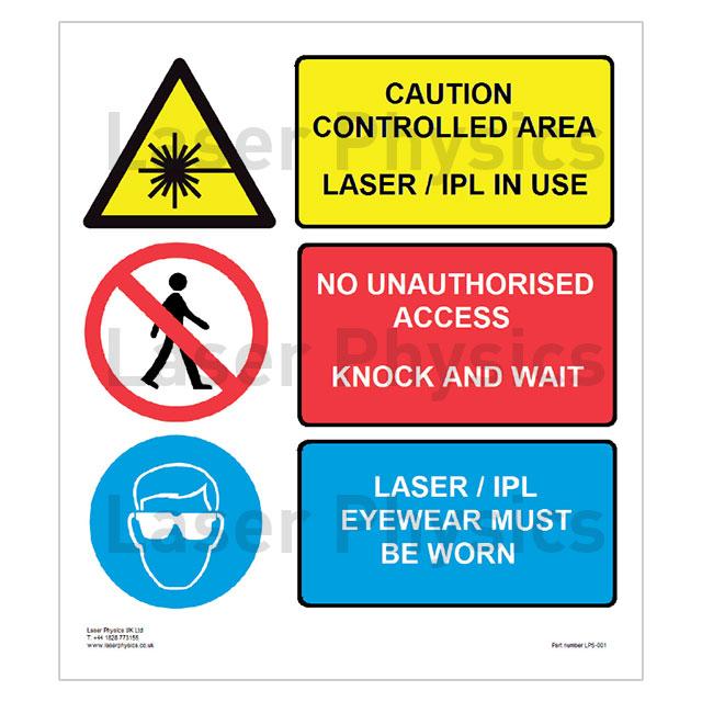 Laser Ipl Warning Sign Laser Physics Uk Ltd