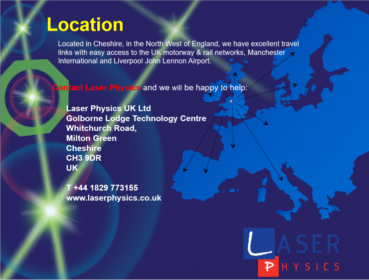 Laser Physics Location